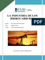 La Industria de Los Hidrocarburos