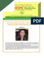 The Hope Bulletin - September 2016