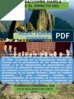 DECLARACION DE MANILA SOBRE EL TURISMO