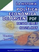 La Historia Politica y Economica de Argentina
