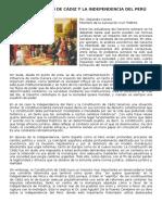 La Constit de Cádiz y La Independencia Del Perú- ARTIC Alejandro Cavero