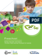 Food&Me - Preschool