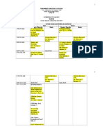 SHS Schedule, 2nd Semester.docx