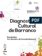 Diagnostico Cultural de Barranco