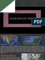 Analisis Mercado