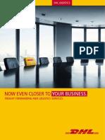 DHL Logistics Image Brochure En