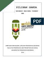 Soal Olimpiade Geosmart Competition UPI 2014