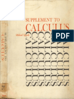Spivak - Supplement to Calculus