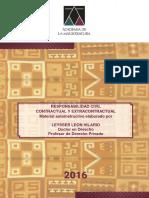 AMAG - Material Autoinstructivo - Responsabilidad Civil - Prof Leysser Leon - Julio 2016