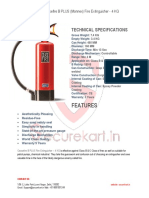 Features of B PLUS FIRE EXTINGUISHER 4 KG
