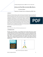 A NOVEL APPROACH FOR PROCESSING BIG DATA