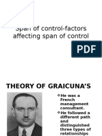 Span of Control-factors Affecting Span of Control