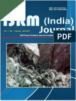 2012 - IsRM Journal India
