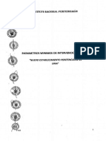 Parametros Minimos de Intervencion
