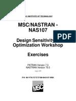 Nas107 Optimization Workbook