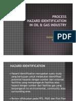 4. Process Hazard Identification in Oil & Gas Industry