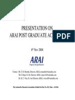 Arai Pga Presentation for Isvr 061108