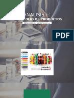 Analisis de Portafolio de Productos - Matriz BCG