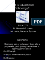PRES_What is Ed Tech