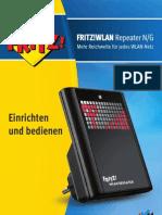 Handbuch FRITZ WLAN Repeater N G