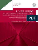 00 Linee Guida Determinazione 4-2015