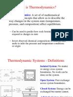 Thermodynamics System
