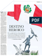 Destino Heroico - Bicentenario del nacimiento del coronel Francisco Bolognesi.