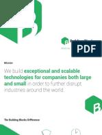 BuildingBlocks - Mobile Phone App Technology Development Portfolio