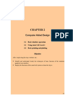 Chapter 2- Computer Aided Design