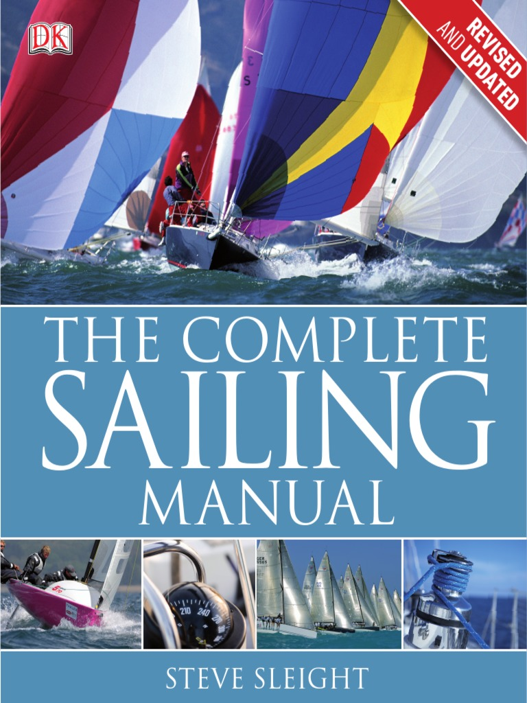 The Complete Sailing Manual 3rd Edition By Steve Sleight Boat Animation Bowline Knot Tying Boating One Handed Shoelace Here S Types Sailboats