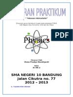 Fisika - Lap Praktikum Tekanan Hidrostatik