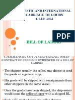 3. Bill of Lading