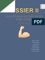 Dossier Entero Con El Desarrollo de Todas Las Sesiones y Sus Materiales