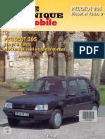 Revue Technique Peugeot 205