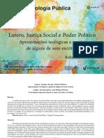 Lutero, justicia social y poder político