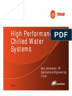 April 2013 High Performance Chilled Water Systems
