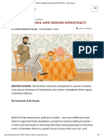 Karma, Dharma and Indian Democracy