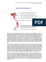 Participatory Poverty Monitoring Round 3 -- Executive Summary ENG