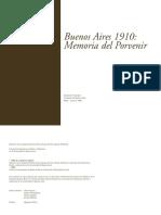 Buenos Aires 1910 - Memoria del porvenir