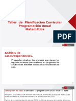 Programacion Anual Matemática