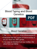 Blood Typing and Genetics