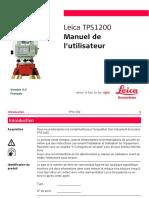 Tps1200 User Fr
