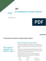 Euromonitor Consumer Shopper Types Global