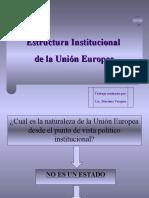 Mariana Vazquez_Estructura Institucional de La Union Europea