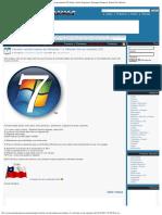 Cambiar Versión Básica de Windows 7 a Ultimate (No Se Necesita CD)