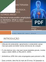 Profilaxia Da Endocardite Bacteriana Na Odonto