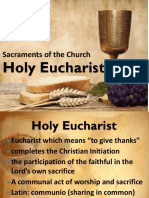 Holy Eucharist
