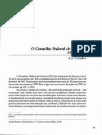 LIA CALABRE - Conselho Federal de Cultura