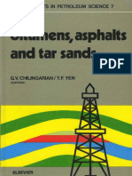 Bitumens, Asphalts, And Tar Sands