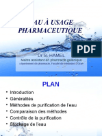 Eau Pharmaceutique